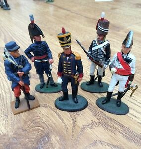 set of 5x del prado collection soldiers 427