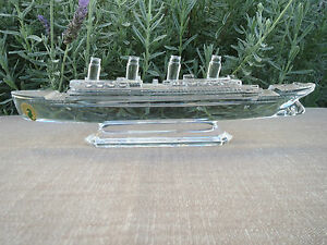 waterford ireland crystal steam ship boat