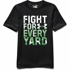 Under Armour Boys' Fight for Every Yard T-shirt SIZE XS *
