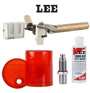 LEE COMBO 284 Cal7mm Double Cavity Mold 90360 & Sizing and Lube Kit WITH LUBE!!
