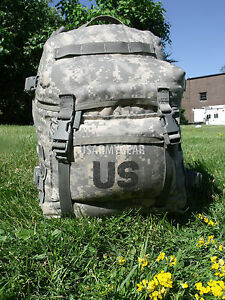 US Army Military Issue Digital ACU Assault 3 Days Molle Back Pack Ruck Sack GI