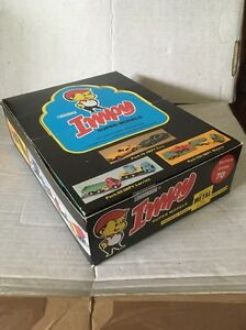 vintage 70s impy trade box x24 models ultra