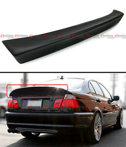 CSL STYLE REAR TRUNK DUCKBILL HIGHKICK SPOILER WING FOR 99-05 BMW E46 4DR SEDAN