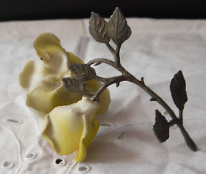 delightful porcelain yellow roses exc
