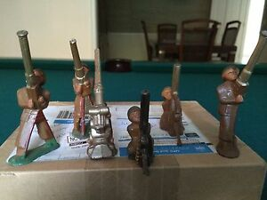 lot of 6 barclay anti aircraft weapons in v