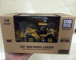 150 Caterpillar Cat 950H Wheel Loader Construction DM85196 By DieCast Masters