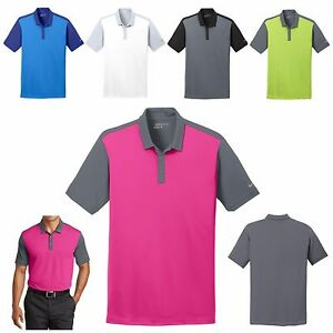 MEN'S NIKE BOLD CONTRAST DRI FIT WICKING POLO SHIRT GOLF XS S M L XL 2X 3X 4X