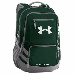 Under Armour Hustle II Storm Backpack - Forest