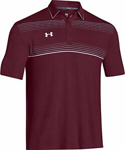 Under Armour Conquest On-Field Polo - MaroonWhite