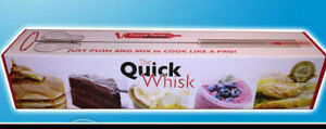 THE QUICK WHISK Stainless Rotary Whisk 14