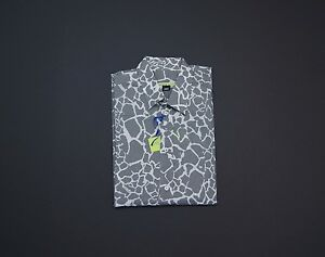VERSACE JEANS Men Logo Printed Button-Front Sport Shirts NEW NWT $250