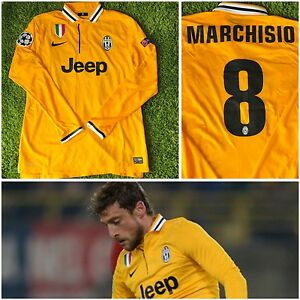 JUVENTUS 201314 MATCH ISSUE #8 MARCHISIO MAGLIA CALCIO FOOTBALL SHIRT