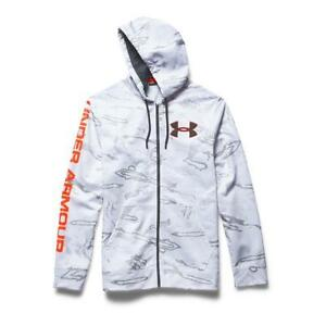 Under Armour Men's ColdGear Infrared Scent Control Caliber Hoodie Jacket 3XL NEW