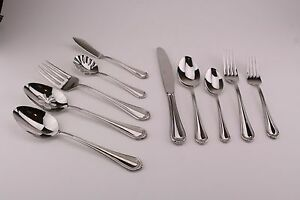 Mikasa Regent Bead 18/10 Glossy Stainless Flatware Your Choice