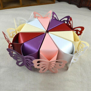 Butterfly Bomboniere Boxes Baby Birthday Bridal Wedding Favors Creative Boxes S
