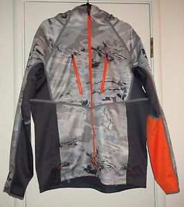 Under Armour Ridge Reaper Hydro UA Storm 2 Soft Shell Zip Up Hooded Jacket NEW L