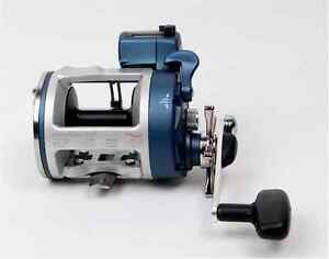 Line winder boat reel with line counter 3 ball bearings Gear ratio:5.1:1