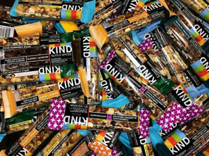50 ASSORTED KIND FLAVOR KIND PLUS NUT AND SEED KIND BARS 3 8g Protein $35.88