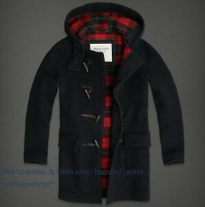 Abercrombie & Fitch Italian wool jackets NWT authentic M or L