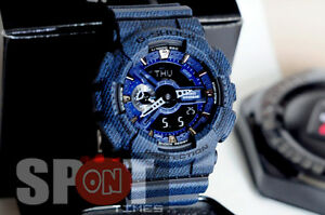 Casio G-Shock Denim Design Men's Watch GA-110DC-1A