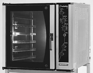 Moffat E35D6-26 Turbofan Electric Convection Oven Full Size 6 Pan Manual