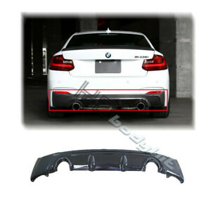 CF F22 M235I (OR M-TECH BUMPER USE) 3D DESIGN STYLE REAR DIFFUSER (DUAL EXHAUST)