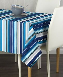 Mexican Blanket Blue Signature Tablecloths - Assorted Sizes!