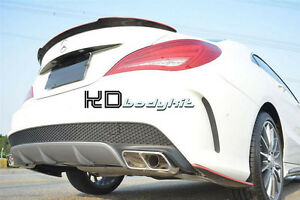CARBON FIBER CLA 250 CLA45 FUTURE DESIGN STYLE TRUNK WING FOR W117