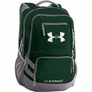 Under Armour Hustle II Backpack Forest Green One Size