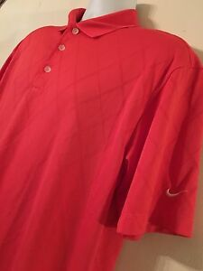 Nike Golf Men's Pink Polo Shirt
