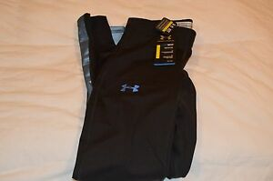NWT $150 UNDER ARMOUR STEALTH STORM RUNNING TIGHTS 1238954 001 SIZE SMALL