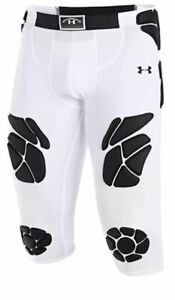 NEW Under Armour MENS 34 Gameday 7-Pad Football Girdle Pants Shorts Padded SZ L