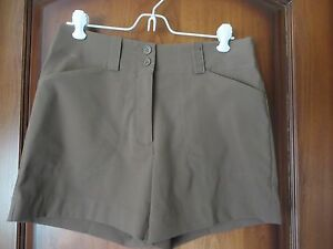 Nike Golf Women's Polyester Blend FIT DRY Shorts Mid Thigh  5