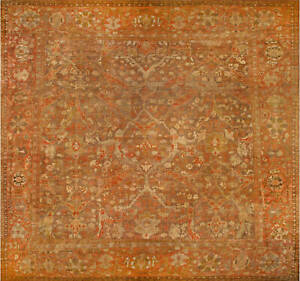 Oversized Antique Persian Sultanabad Carpet (size adjusted) BB4267