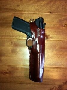 Leather Holster Ruger MK Mark I II III IV with 5 12 inch barrel  #9259