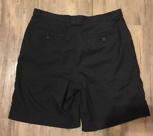 Under Armour Performance Golf Coaching Shorts Black 34 EUC Polyester