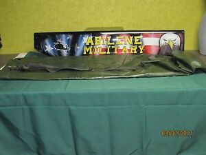 ANTENNA TOWER MAST POLES CARRY BAG CAMOUFLAGE NET SUPPORT STORAGE  FIELD DAY