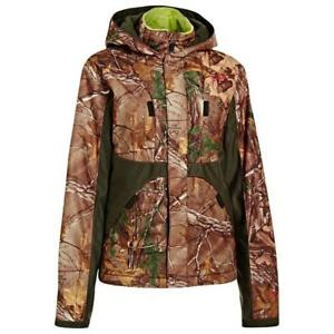 Under Armour Gunpowder L Infrared Scent Control Jacket Hunt Camo Realtree Xtra