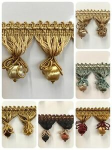 2 1 4quot; French Tassel Fringe Trim TF 55 Sold by the yard