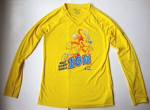 Women's Ladies RUN WALT DISNEY WORLD 10K T shirt Top size small S