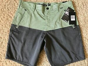 BRAND NEW NIKE DRI FIT HURLEY MENS GRAY GOLF SHORTS DRIVER SLIM 32 33 34 36 NWT