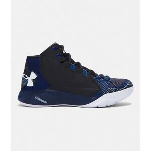 Under Armour 1269300-001 Torch Fade Blue Black Basketball Womens Shoes Sz 7