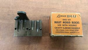 Lyman Ideal Combination 311466 and 311467 Double Cavity Bullet Mold