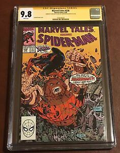 MARVEL TALES #238✳CGC SS 9.8✳SIGNED 2x STAN LEE & TODD McFARLANE✳