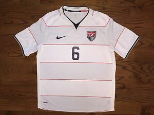 XL Men's Nike FIT-DRY 2009 USMNT Team USA Soccer Michael Bradley #6 Home Jersey