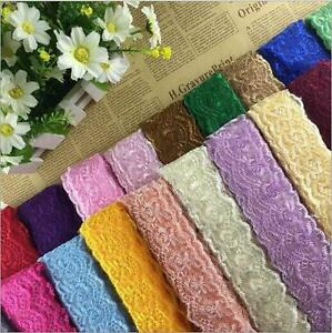 10 Yards Wedding dress embroidery Lace Trim clothing accesories DIY Sewing $3.59