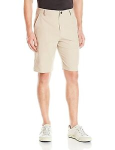 Puma Golf Men's Essential Pounce Shorts White Pepper Size 34