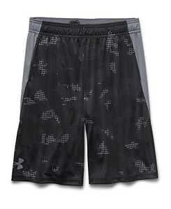 Under Armour Big Boys UA Combine Training Shorts Youth Small Black
