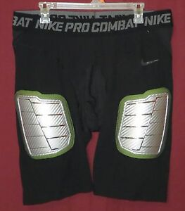 Men's New Nike Pro Combat Hyperstrong Padded Football Shorts Size 4XL 634668