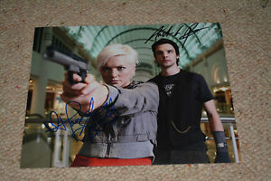 HANNAH SPEARRITT&ANDREW LEE POTTS  signed autograph In Person 8x10 PRIMEVAL